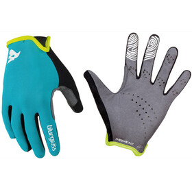 bluegrass Magnete Lite Gloves cyan/white